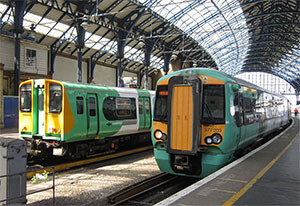 Train Line Network